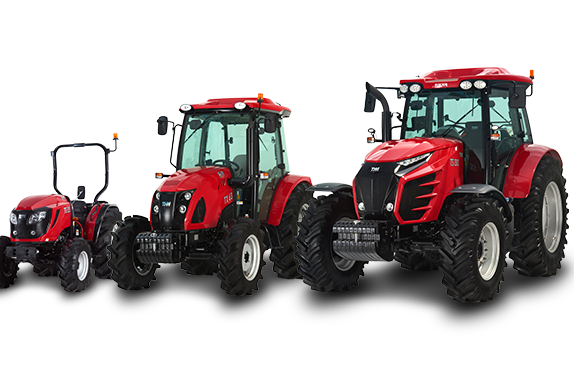 Three types of TYM tractors for light, medium or heavy duty tasks/EN/